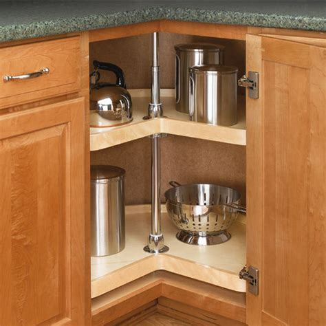 lazy susans for kitchen cabinets rev a shelf wood classic quot kidney shaped independently