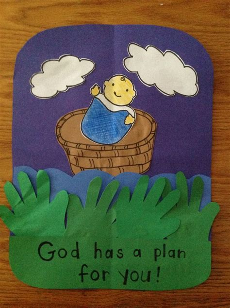 babys crafts baby moses craft bible crafts by let moses