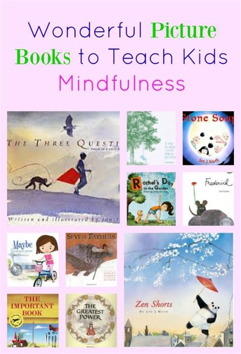 using picture books to teach zen picture books to teach mindfulness pragmaticmom