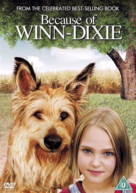 because of winn dixie pictures from the book news because of winn dixie uk dvd r2 dvdactive