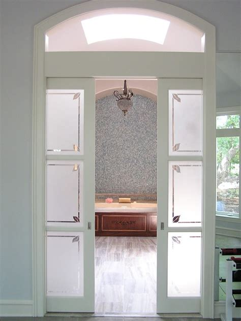 frosted glass sliding doors interior wood interior sliding frosted glass pocket doors buy