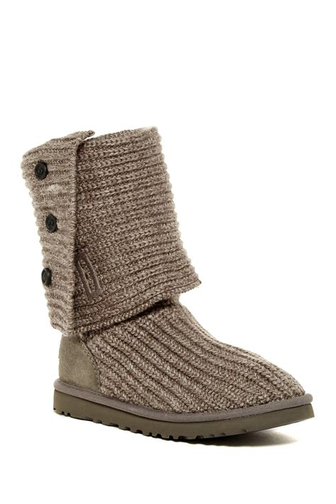 ugg australia classic cardy knit boot uggs australia cardy classic knit boot