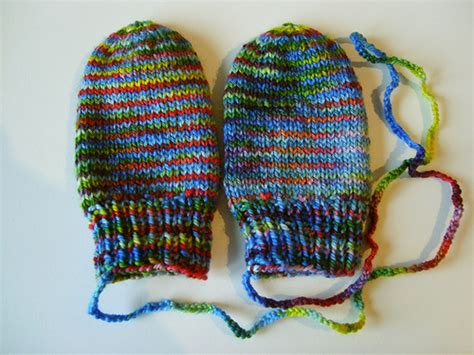 easy knit baby mittens knitting patterns galore baby mittens