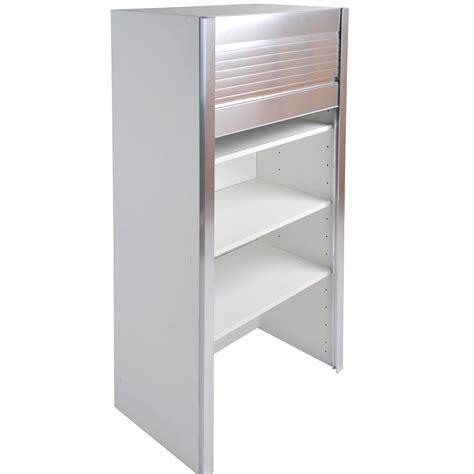 caisson de cuisine haut bf60 delinia blanc l 60 x h 126 x p 35 cm leroy merlin