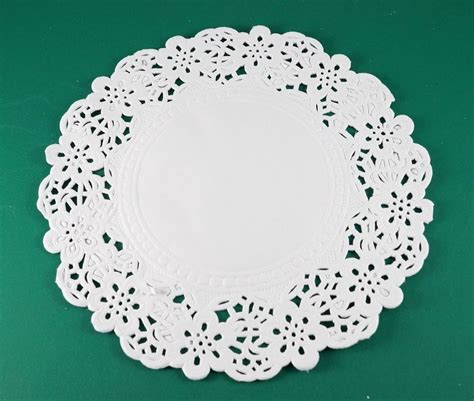 paper lace doilies crafts 6 5 quot white paper lace doily wedding card
