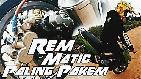 Modifikasi Motor Matic Untuk Freestyle by Modifikasi Rem Motor Matic Untuk Freestyle Mio Ijo