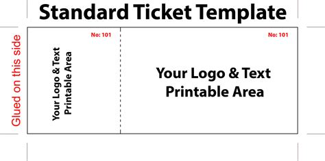 templates free free concert ticket template it resume cover letter sle
