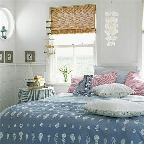 seaside bedroom designs bedroom with blue bedding and seaside accessories