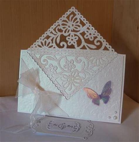 card corner butterfly corner wedding card