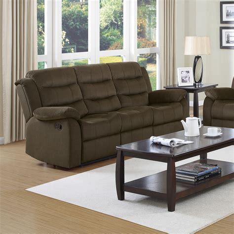 two tone reclining sofa two tone reclining sofa 7920288 tafton java two tone