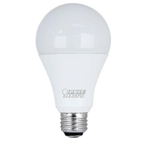 led light bulbs for home 100 watt equivalent feit electric 50 100 150 watt equivalent daylight 5000k