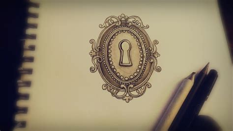keyhole tattoo design by landersalisa on deviantart