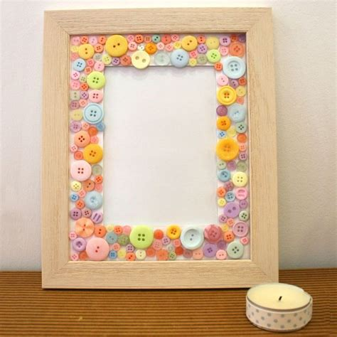 photo frame crafts for button frame craft ideas inspirational projects