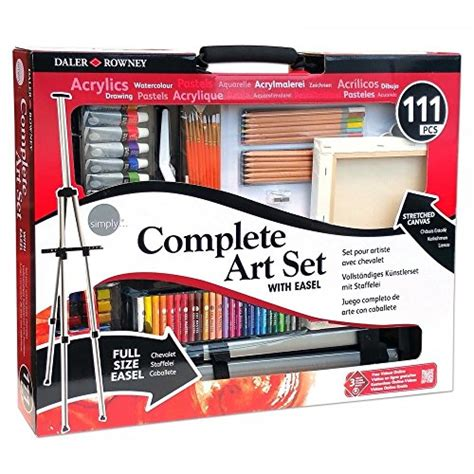 acrylic painting kit a complete painting kit for beginners complete kit easel acrylic painting drawing supplies