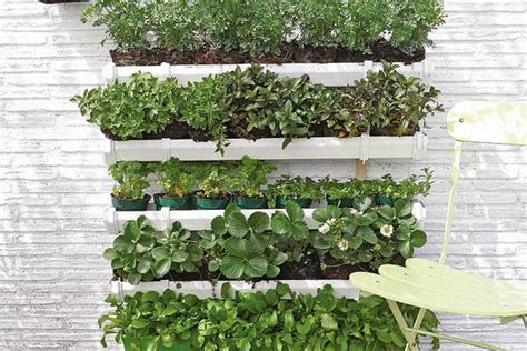 garden on wall how to build a pallet vertical garden and a diy plastic