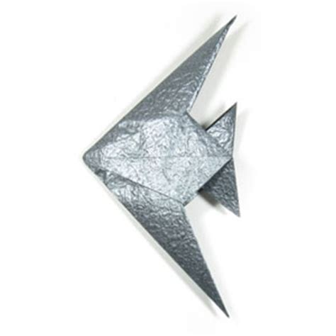 origami angelfish fish origami 171 embroidery origami