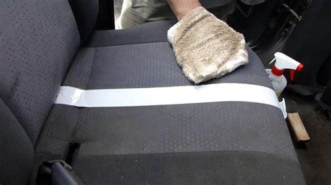comment nettoyer un si 232 ge de voiture en tissu