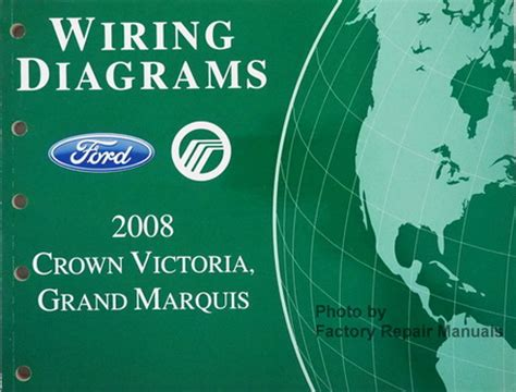 manual repair autos 2008 ford crown victoria navigation system 2008 ford crown victoria and mercury grand marquis electrical wiring diagrams factory repair
