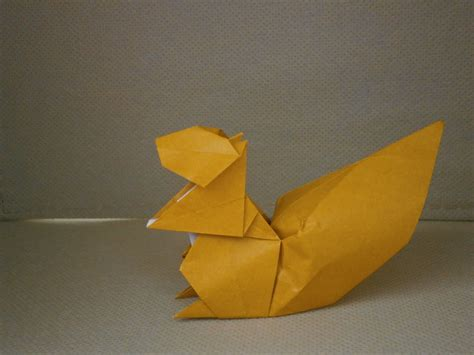 origami squirrel katakoto origami rabbit and squirrel from quot works of hideo