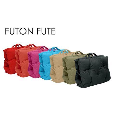 futon fut 233 70x190cm jaune matelas futon fut 233 nomade pas cher thedecofactory
