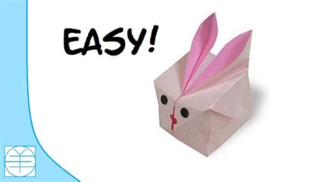 Easter Origami Bunny Easy