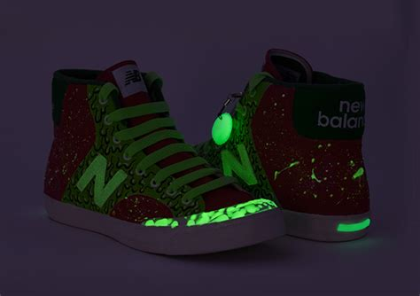 glow in the paint durban new balance gitd sneakers on pantone canvas gallery