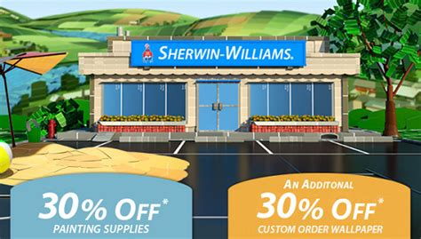 sherwin williams paint store sale sherwin williams 4 day sale 40 paint 10 50