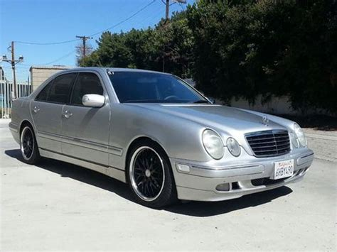 2001 Mercedes E430 by Purchase Used 2001 Mercedes E430 Silver Car 8