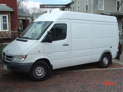 2006 Dodge Sprinter by 2006 Dodge Sprinter 2500 Base Standard Cargo 4 Door