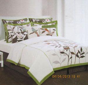 hillcrest comforter sets hillcrest paradise floral bird king comforter set of 6