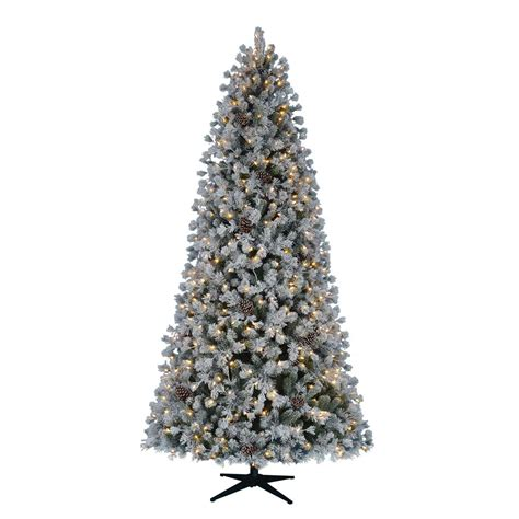pre lit led trees home accents 9 ft pre lit led