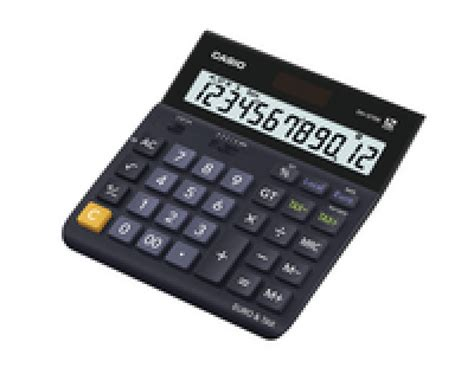 landscape calculator casio 12 digit landscape tax currency calculator black