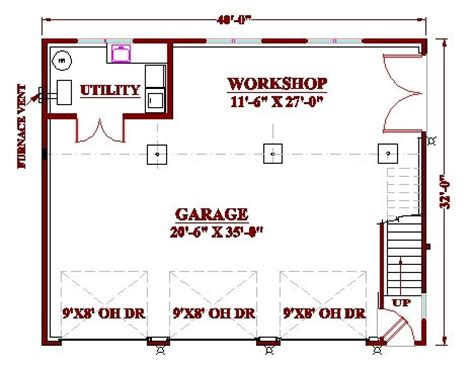 garage workshop plans woodworking simple design guide to get garage floor plans