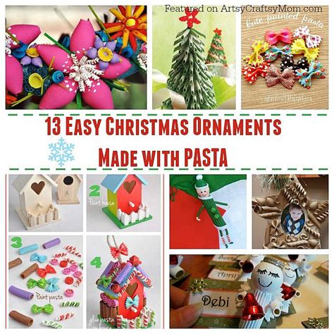 easy ornaments to make for 13 easy ornaments for to make with pasta