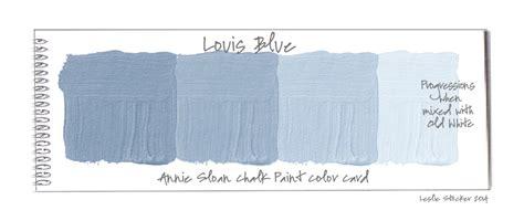 chalk paint louis blue colorways february 2014