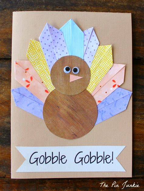 easy thanksgiving cards to make 14 thanksgiving turkey projects oh my creative