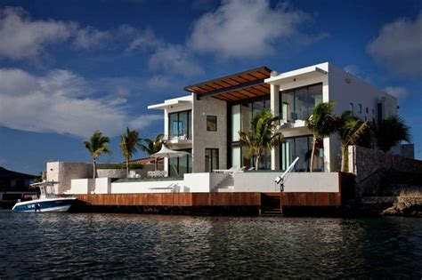 modern florida house plans big and house in the edge of island bonaire