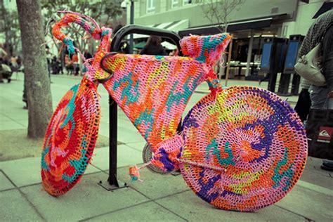 knit bombing nook cranny yarn bombing guerilla knitting