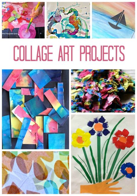 arts and craft activities for collage for fantastic learning
