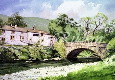 bob ross painting holidays uk dales hubberholme margaret clarkson