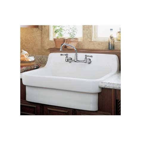 american standard country kitchen sink faucet 9062 008 020 in white by american standard