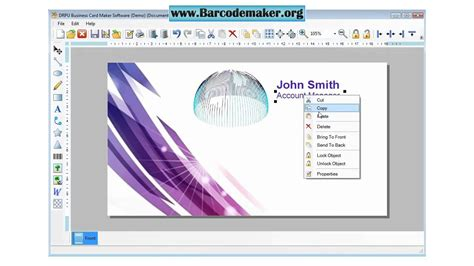 card downloads free business card maker software how to make