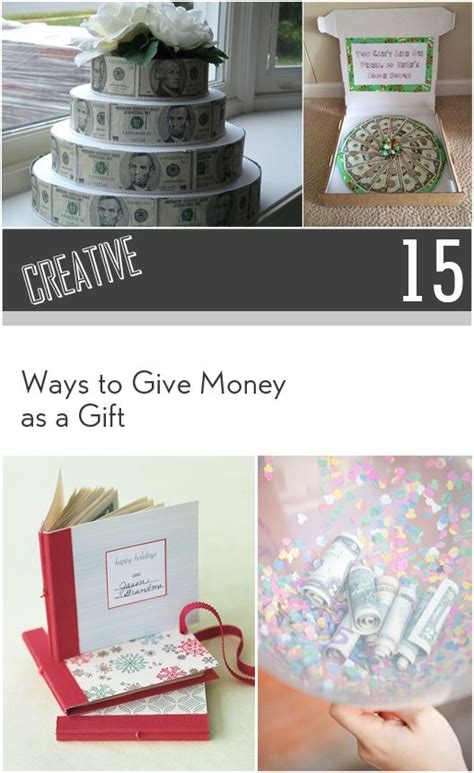 15 creative ways to give as a gift creative gift