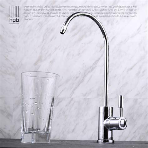 filtered water tap kitchen sink hpb copper purified water sink tap water filter