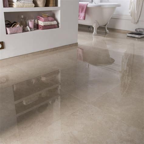 carrelage sol et mur marfil effet marbre rimini l 60 x l 60 cm leroy merlin