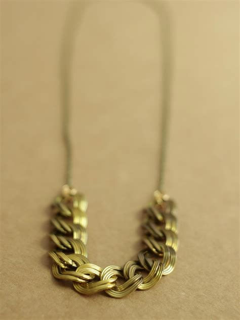 brass chain for jewelry japanese chain necklace in brass a common thread