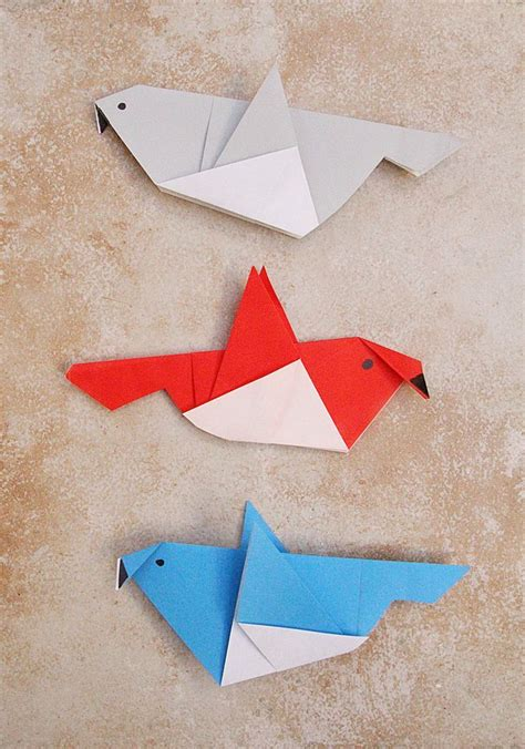 simple origami bird 1254 best images about paper diy on papier