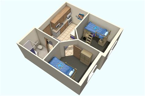 apartment style apartment style living center housing students grand