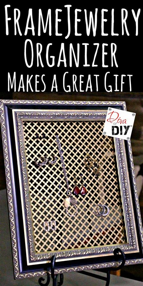 make your own jewelry organizer how to make your own diy jewelry organizer of diy