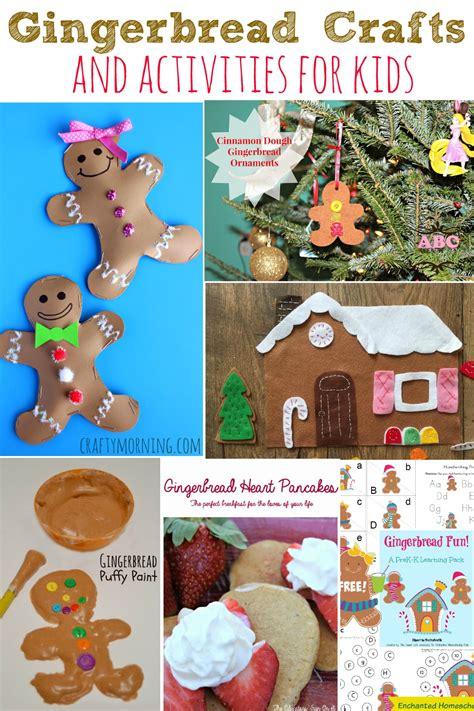 gingerbread crafts for gingerbread crafts and activities for abc creative